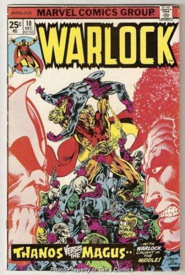 Warlock #10 Marvel Comics 1975 Good/Very Good
