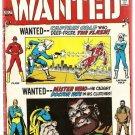 Wanted the World's Most Dangerous Villains #8 DC Good