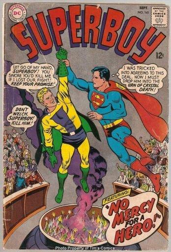 Superboy #141 DC Comics 1967 Good