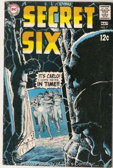 Secret Six #7 DC Comics 1969 Fair