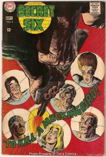 Secret Six #3 DC Comics 1968 Fair