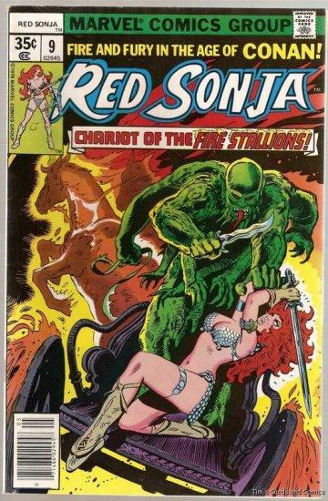 Red Sonja (1977 Series) #9 Marvel Comics 1978 VG