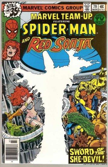 Marvel Team-Up (1972 Series) #79 Spider-Man 1979 Fine