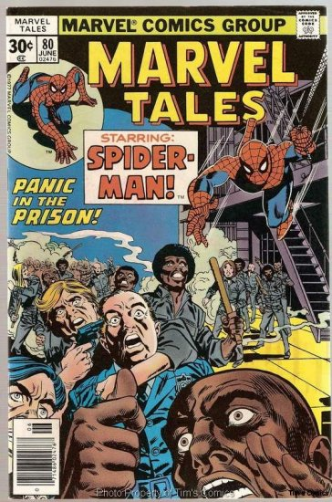 Marvel Tales #80 Spider-Man Comics 1977 FN/VF