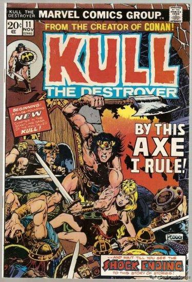 Kull the Conqueror (1971 Series) #11 Marvel 1973 VG