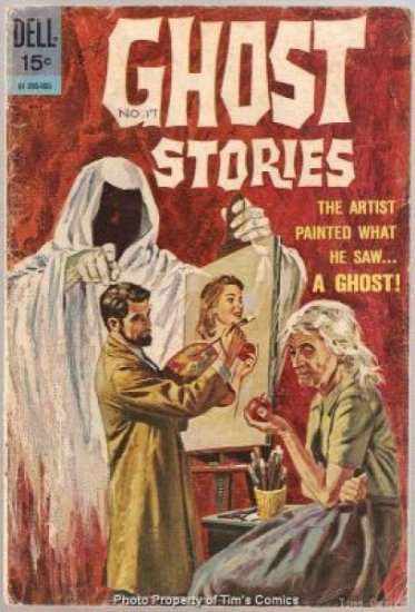 Ghost Stories #24 Dell Comics 1970 GOOD