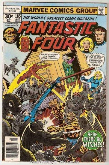 Fantastic Four (1961 series) #185 Marvel Comics 1977 VG