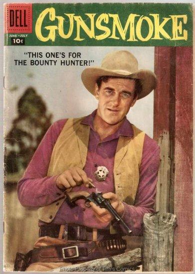 Gunsmoke #9 Dell Comics 1958 Good