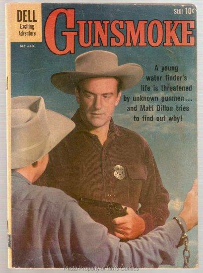 Gunsmoke #24 Dell Comics 1961 Very Good