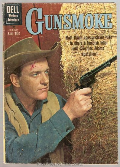 Gunsmoke #21 Dell Comics 1960 Good