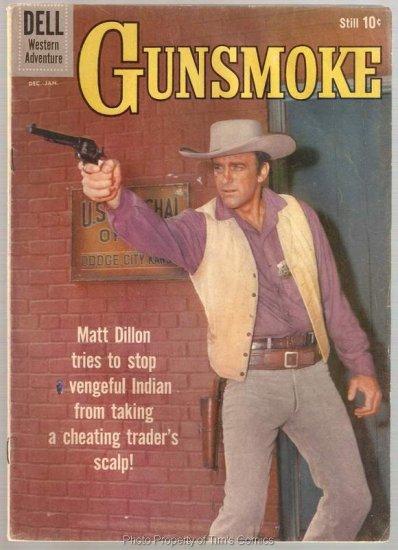 Gunsmoke #18 Dell Comics 1959 Good