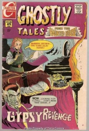 Ghostly Tales #85 Charlton Comics 1971 Fine