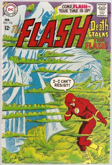 Flash (1959 series) #176 DC Comics 1968 Fine