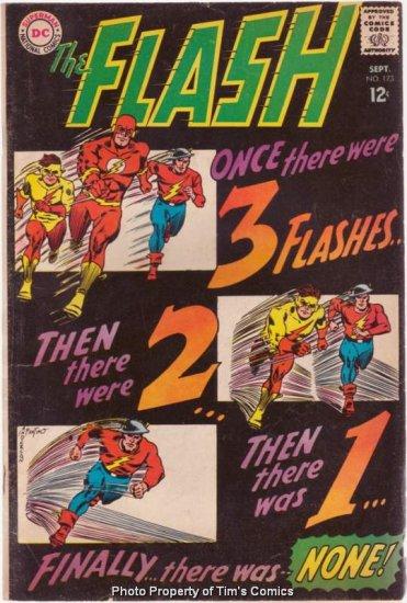 Flash (1959 series) #173 DC Comics 1967 Very Good