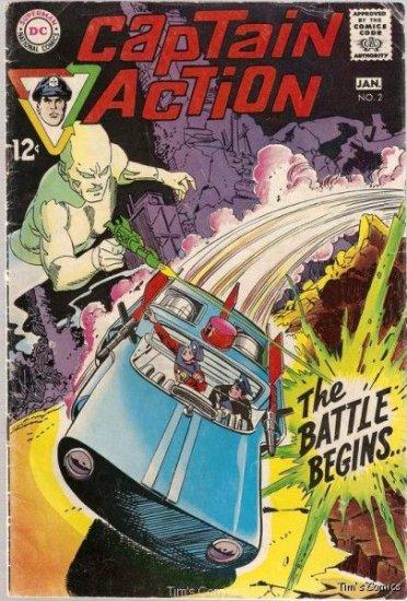 Captain Action #2 DC Comics 1969 Good