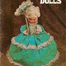 Living Dolls Pattern Book Gloria Barnhart 1972