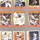 Lot of 10 1991 & 1992 Score Hot Rookies Baseball Cards