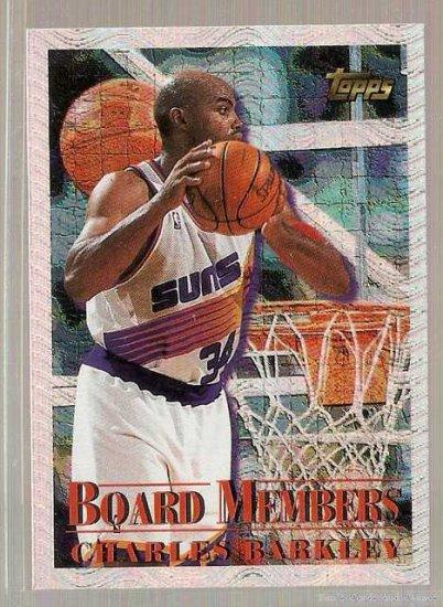 1996-97 Topps Basketball Season's Best #9 Charles Barkley
