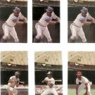 Lot of 12 1986 Donruss Pop-Ups Baseball Cards