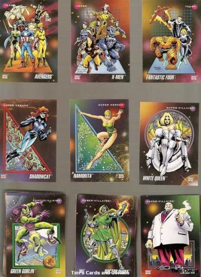 Marvel Universe 1992 Series 3 Lot of 135 Cards