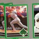 Lot of 5 1992 Fleer Baseball Team Leaders Sabo Bonilla