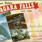 Niagara Falls New York Souvenir Folder