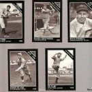 Lot of 5 1992 Conlon Sporting News Baseball Cards TSN