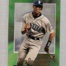 1997 E-X2000 Baseball Card #S43 Alex Rodriguez Sample