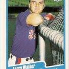 1990 Fleer Baseball Card #363 Larry Walker RC