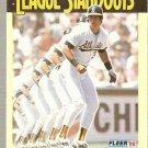1990 Fleer League Standouts Baseball #4 Jose Canseco