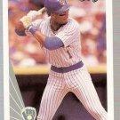1990 Leaf Baseball Card #157 Gary Sheffield