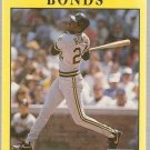 1991 Fleer Baseball Card #33 Barry Bonds