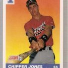 1991 Score Baseball Card #671 Chipper Jones RC NM