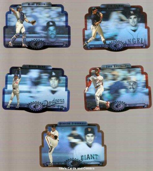 Lot of 5 1996 Upper Deck SPX Baseball Cards