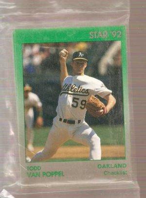 1992 Star Todd Van Poppel Set of 11 Baseball Cards