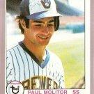 1979 Topps Baseball Card #24 Paul Molitor EX