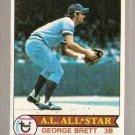 1979 Topps Baseball Card #330 George Brett VG