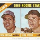 1966 Topps Baseball Card #139 Cubs Rookie Stars EX-MT