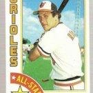 1984 Topps Baseball Card #400 Cal Ripken All-Star