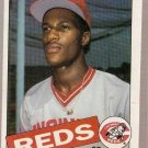1985 Topps Baseball Card #627 Eric Davis RC