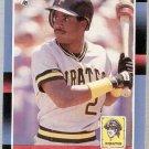 1988 Donruss Baseball Card  #326 Barry Bonds NM