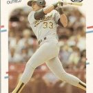 1988 Fleer Glossy Baseball Card #276 Jose Canseco