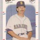 1988 Fleer Glossy Baseball Card #378 Edgar Martinez