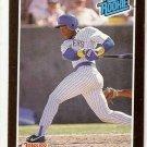 1989 Donruss Baseball Card #31 Gary Sheffield RC NM