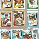Topps Turn Back the Clock Baseball Cards Lot of 15