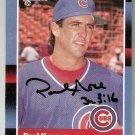 Autographed 1988 Donruss Baseball Card #315 Paul Noce