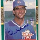 Autographed 1987 Donruss Rookies Baseball #51 Paul Noce