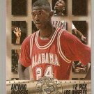 1995 Press Pass Foil Basketball Card 30 Antonio McDyess