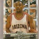 1995 Press Pass Foil Basketball Card 7 Damon Stoudamire