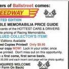 1991 Speedway Racing Price Guide Ken Schrader Promo
